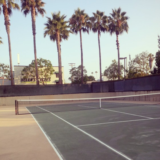 Day 1, tennis!